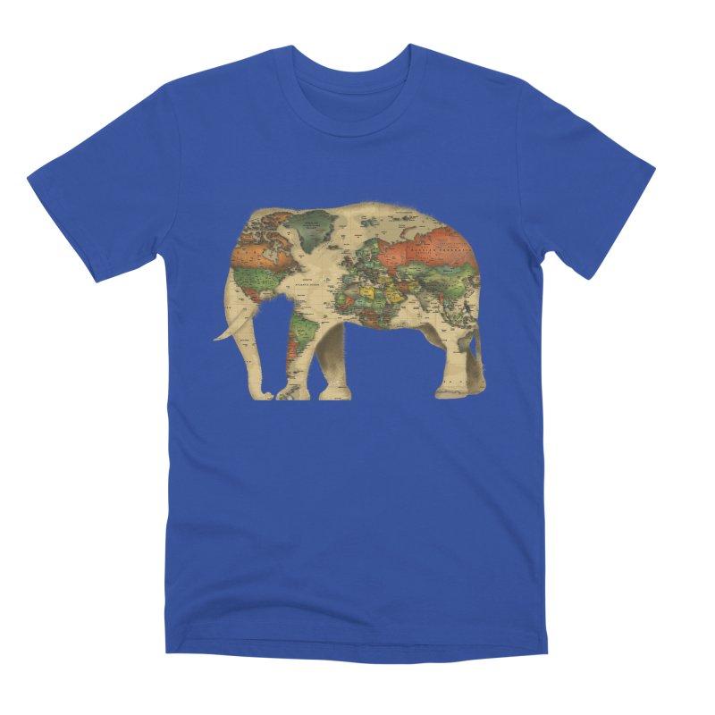 save the elephants Men's Premium T-Shirt by Fathi