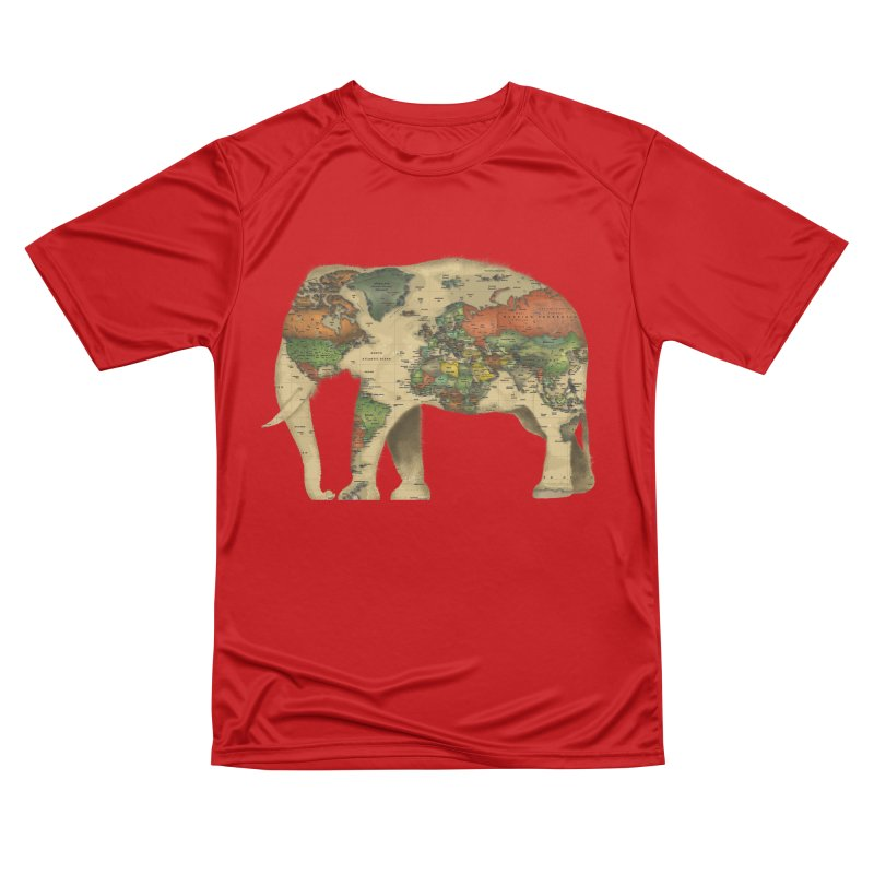 save the elephants Men's Performance T-Shirt by Fathi