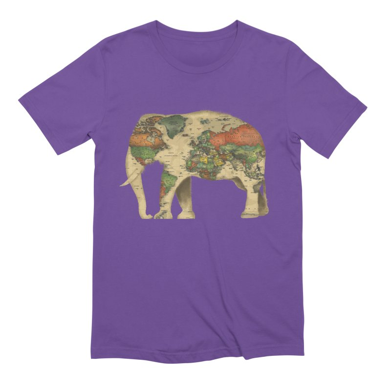 save the elephants Men's Extra Soft T-Shirt by Fathi