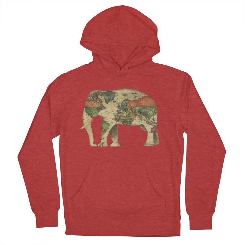 save the elephants Women's French Terry Pullover Hoody by Fathi