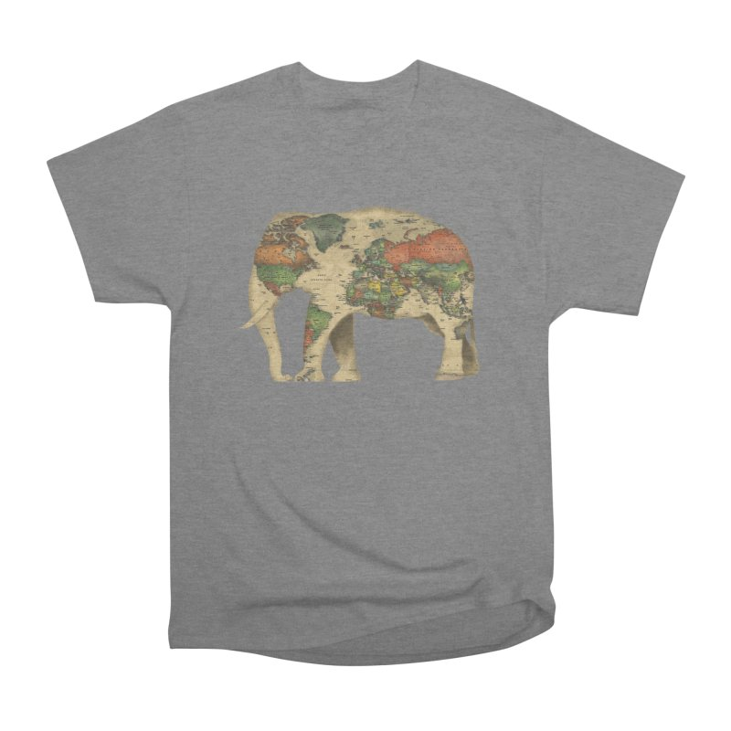 save the elephants Men's Heavyweight T-Shirt by Fathi