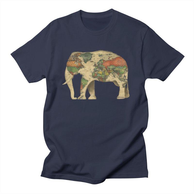 save the elephants Women's Regular Unisex T-Shirt by Fathi