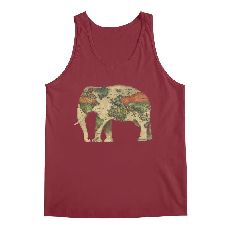save the elephants Men's Regular Tank by Fathi