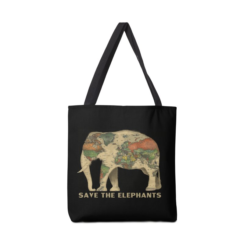 save the elephants Accessories Tote Bag Bag by Fathi