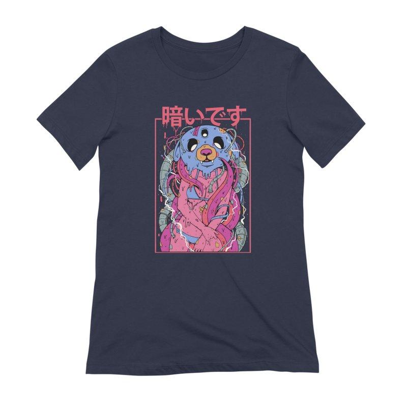 Kurai Desu Women's Extra Soft T-Shirt by Fathi