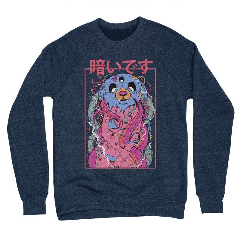 Kurai Desu Men's Sponge Fleece Sweatshirt by Fathi