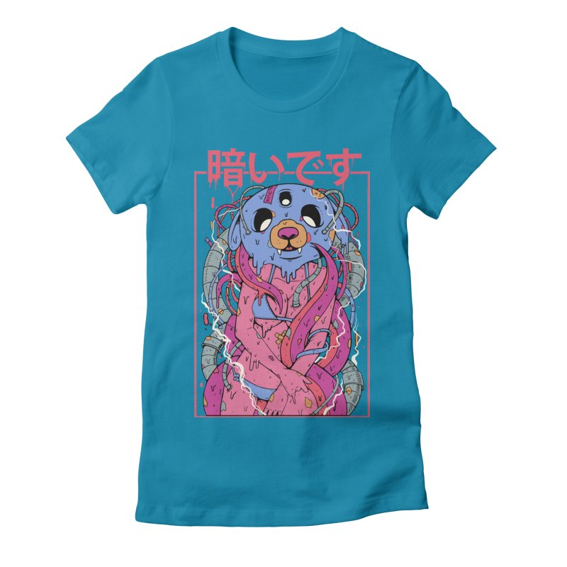 Kurai Desu Women's Fitted T-Shirt by Fathi