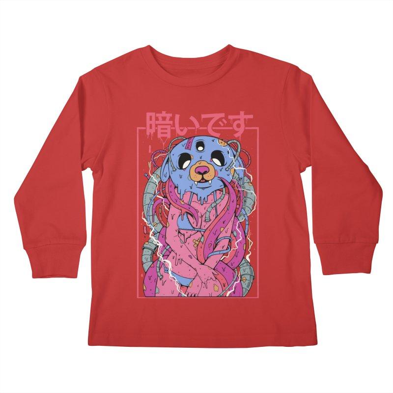 Kurai Desu Kids Longsleeve T-Shirt by Fathi
