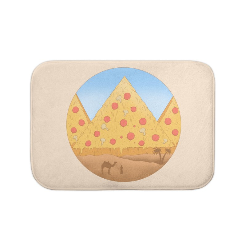 Pizzamids Home Bath Mat by Fathi