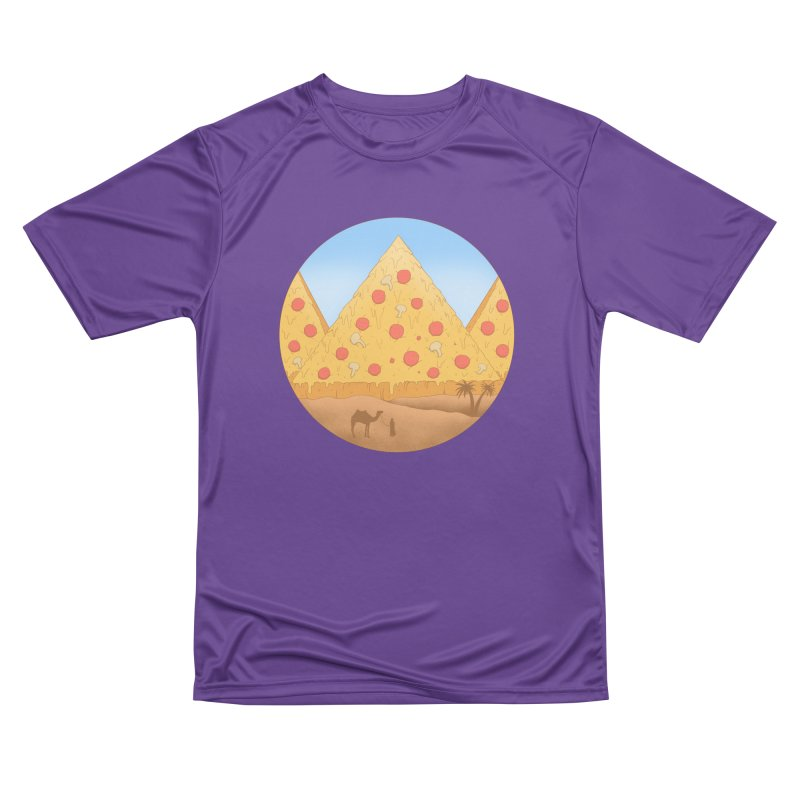 Pizzamids Women's Performance Unisex T-Shirt by Fathi