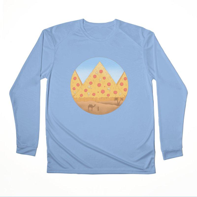 Pizzamids Women's Performance Unisex Longsleeve T-Shirt by Fathi