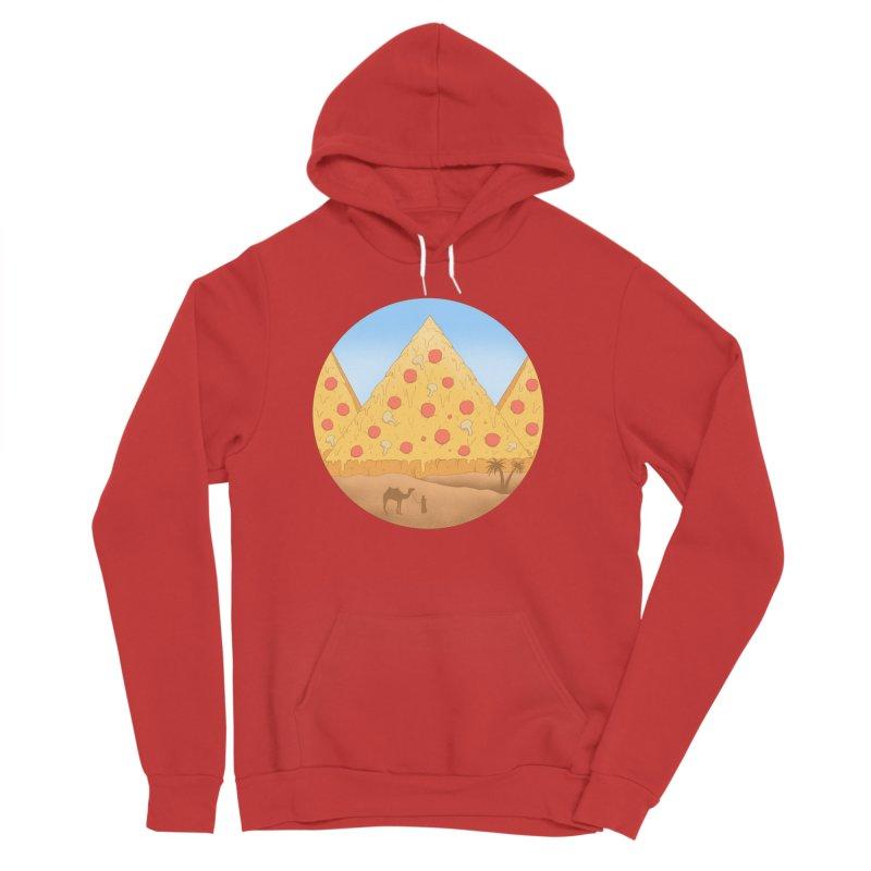 Pizzamids Women's Sponge Fleece Pullover Hoody by Fathi