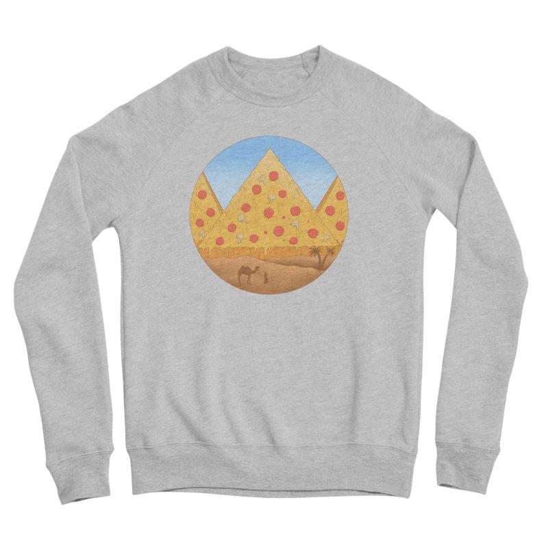 Pizzamids Men's Sponge Fleece Sweatshirt by Fathi