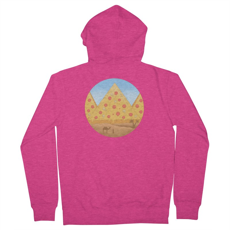 Pizzamids Women's French Terry Zip-Up Hoody by Fathi