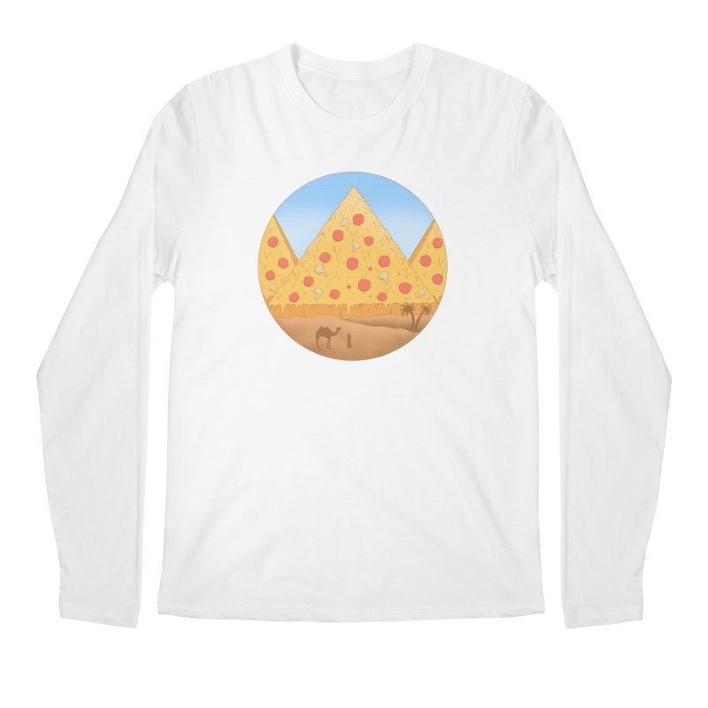 Pizzamids Men's Regular Longsleeve T-Shirt by Fathi