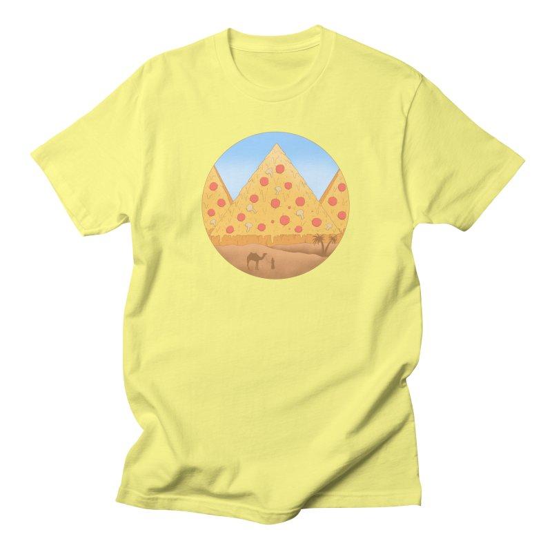 Pizzamids Men's T-Shirt by Fathi