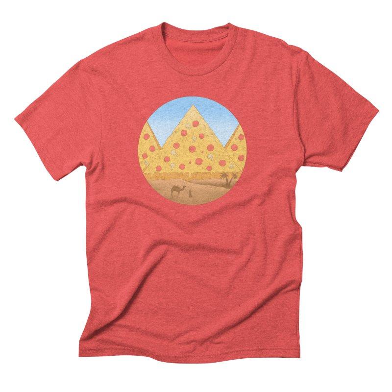Pizzamids Men's Triblend T-Shirt by Fathi