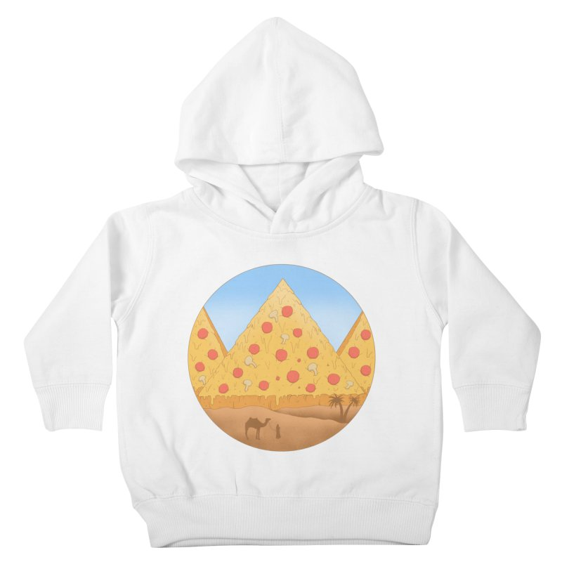 Pizzamids Kids Toddler Pullover Hoody by Fathi