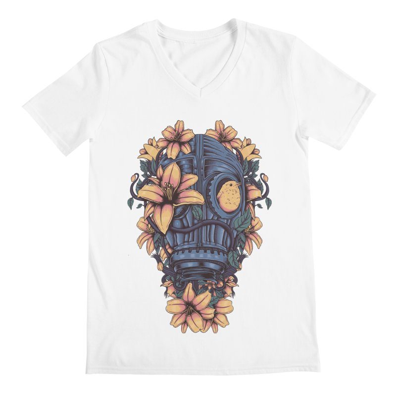 Beautiful Apocalypse Men's Regular V-Neck by Fathi