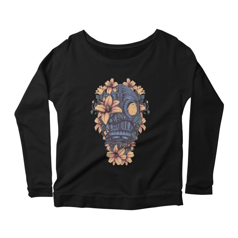 Beautiful Apocalypse Women's Scoop Neck Longsleeve T-Shirt by Fathi
