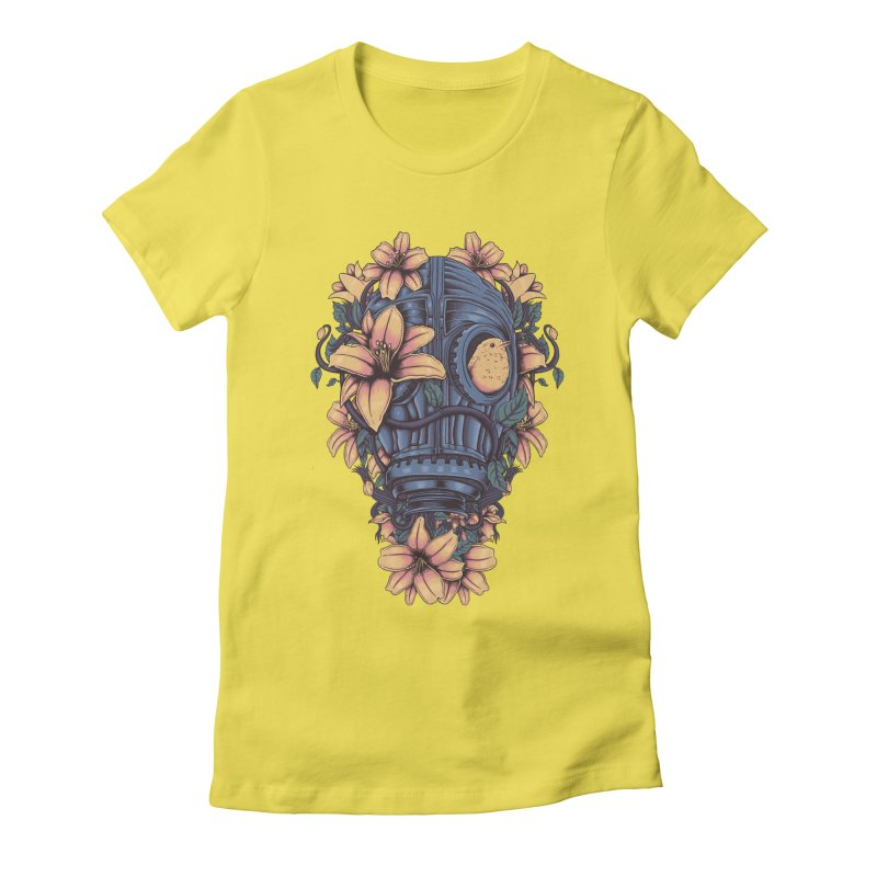 Beautiful Apocalypse Women's Fitted T-Shirt by Fathi