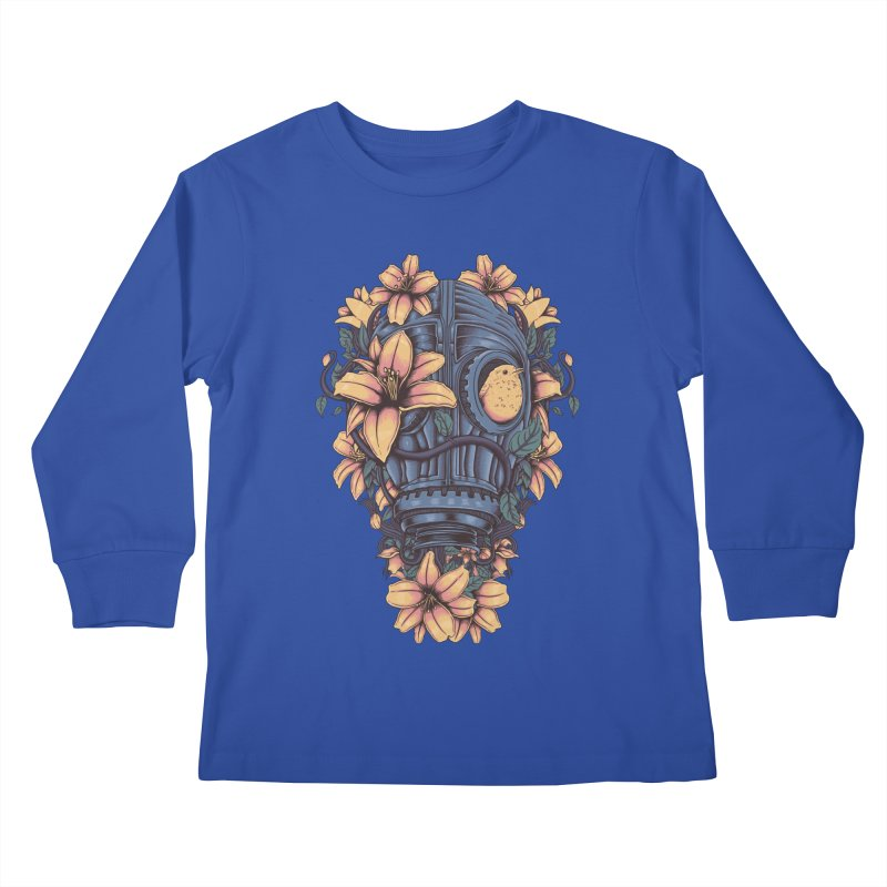 Beautiful Apocalypse Kids Longsleeve T-Shirt by Fathi