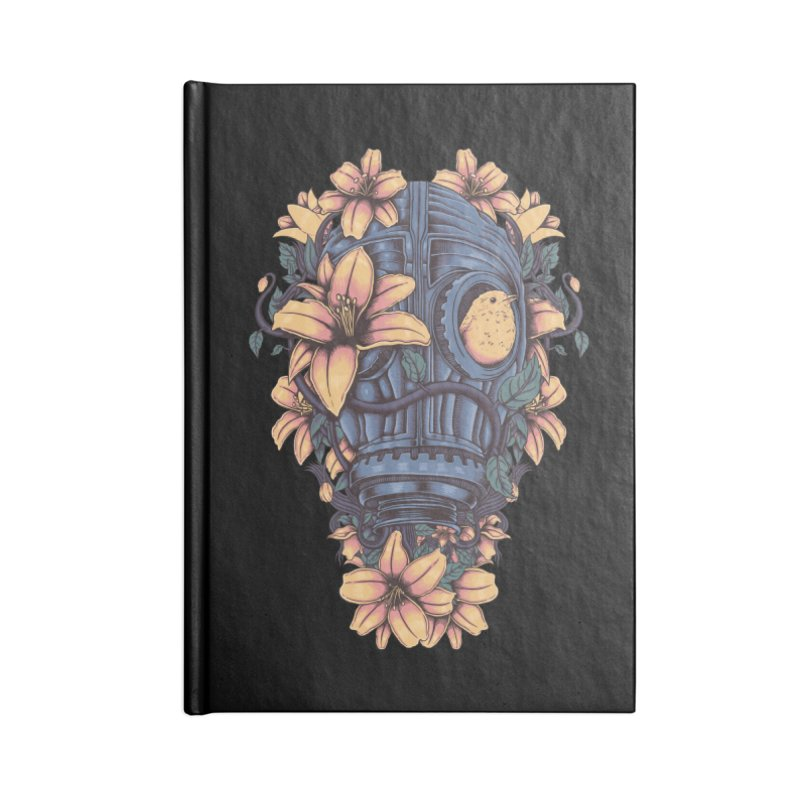 Beautiful Apocalypse Accessories Lined Journal Notebook by Fathi