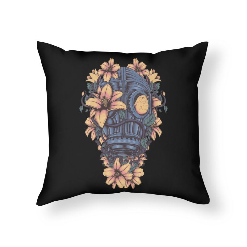Beautiful Apocalypse Home Throw Pillow by Fathi