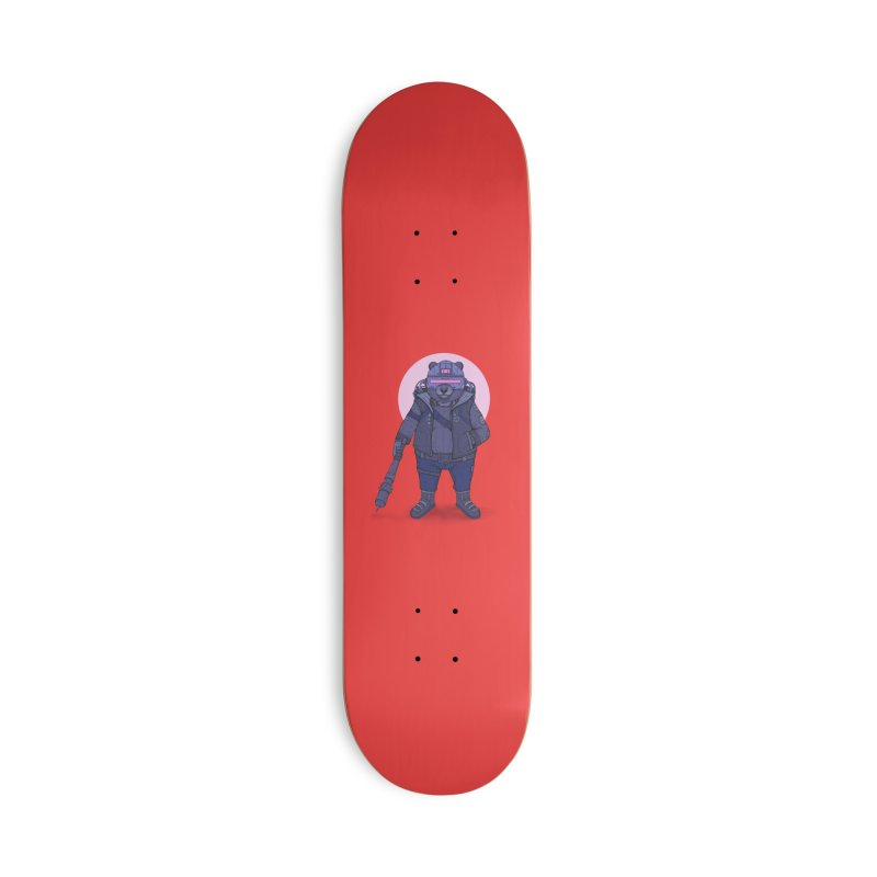 Cybear Punk Accessories Deck Only Skateboard by Fathi