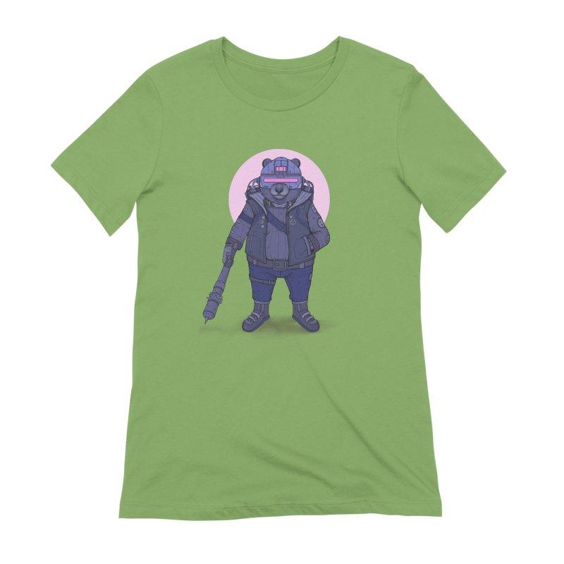 Cybear Punk Women's Extra Soft T-Shirt by Fathi