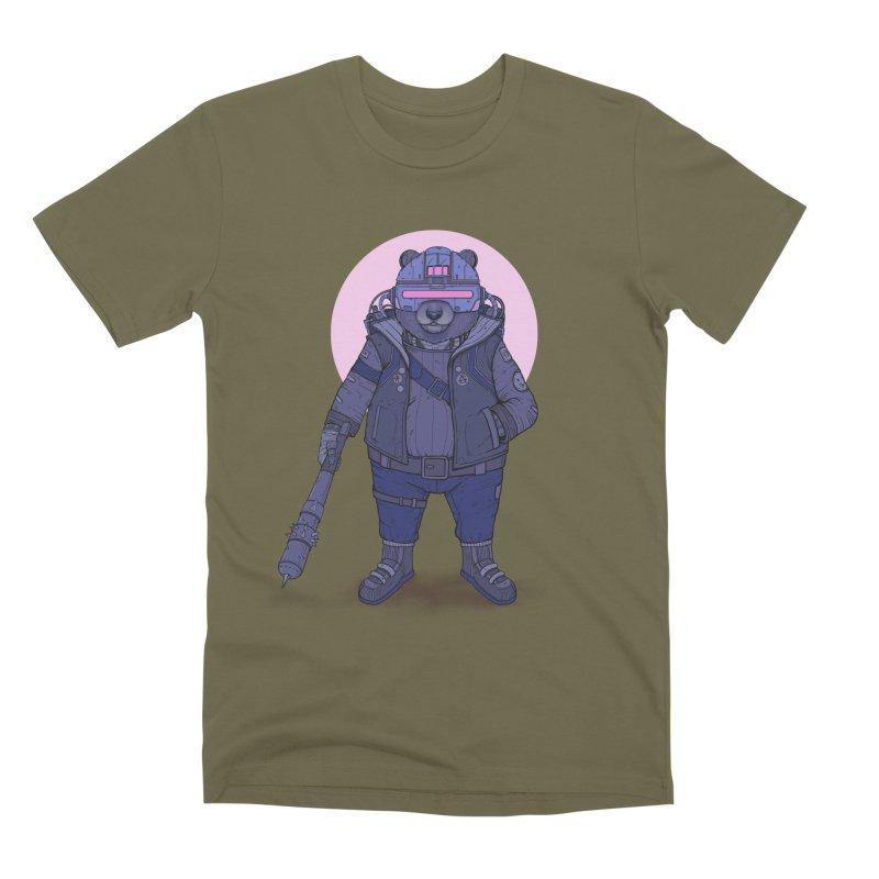 Cybear Punk Men's Premium T-Shirt by Fathi