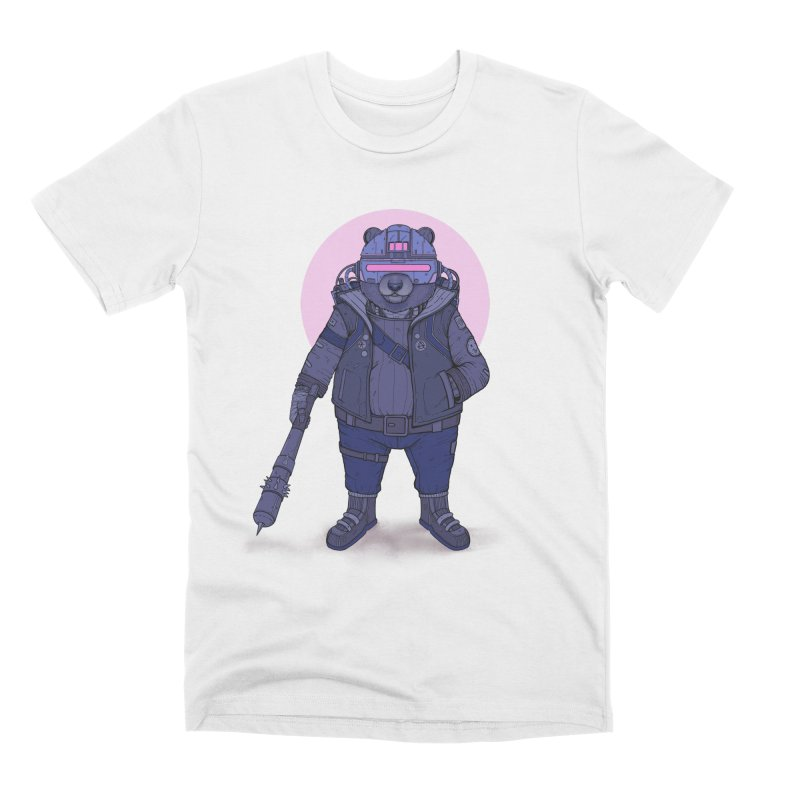 Cybear Punk Men's T-Shirt by Fathi