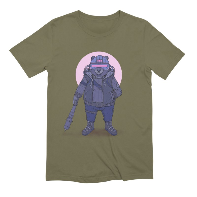 Cybear Punk Men's Extra Soft T-Shirt by Fathi