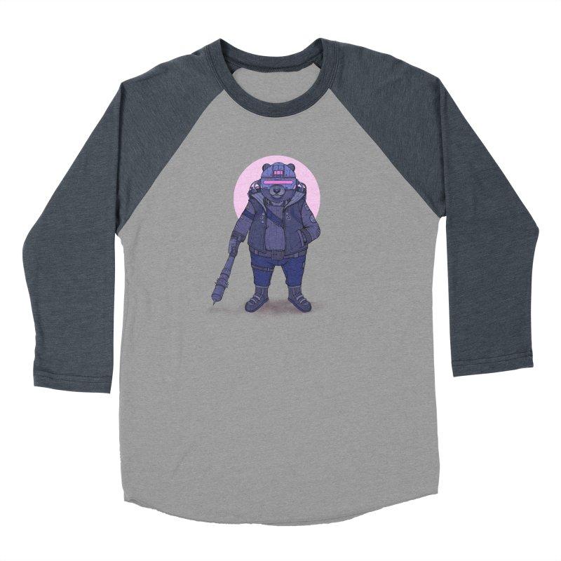 Cybear Punk Men's Baseball Triblend Longsleeve T-Shirt by Fathi