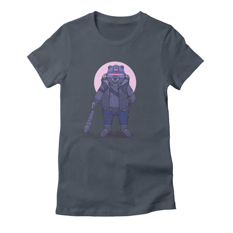 Cybear Punk Women's T-Shirt by Fathi