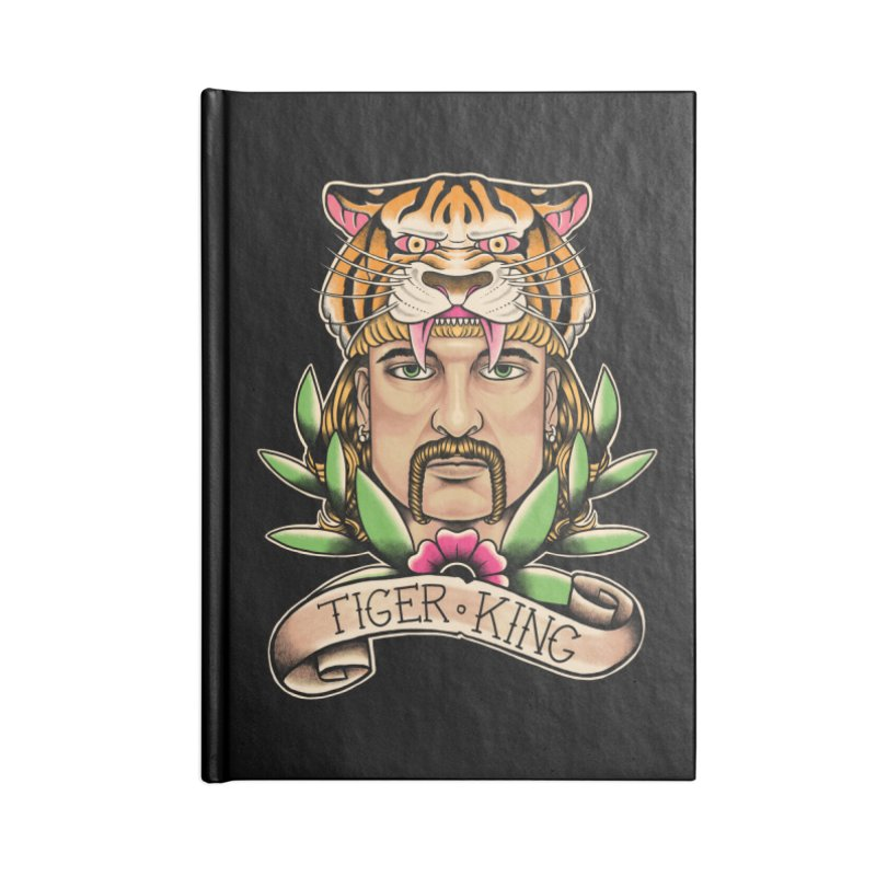 Tiger King Accessories Notebook by Fathi