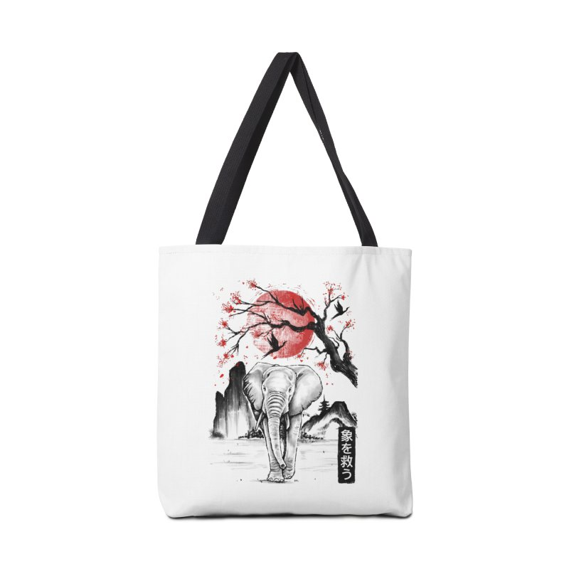 Elephant Japanese Accessories Bag by Fathi