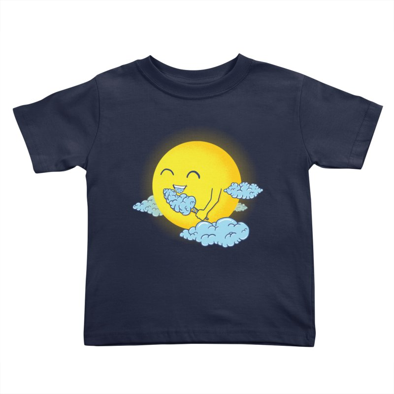 Cloud Candy Kids Toddler T-Shirt by Fathi