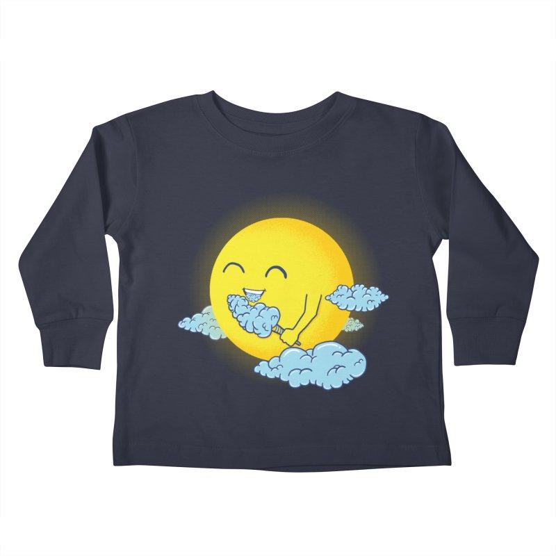 Cloud Candy Kids Toddler Longsleeve T-Shirt by Fathi