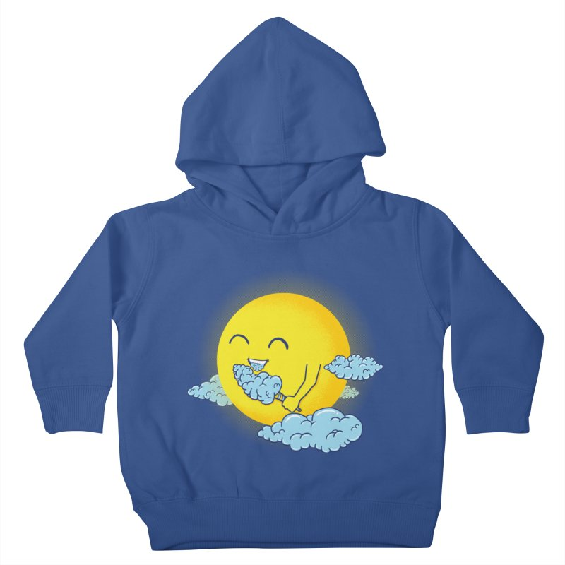 Cloud Candy Kids Toddler Pullover Hoody by Fathi