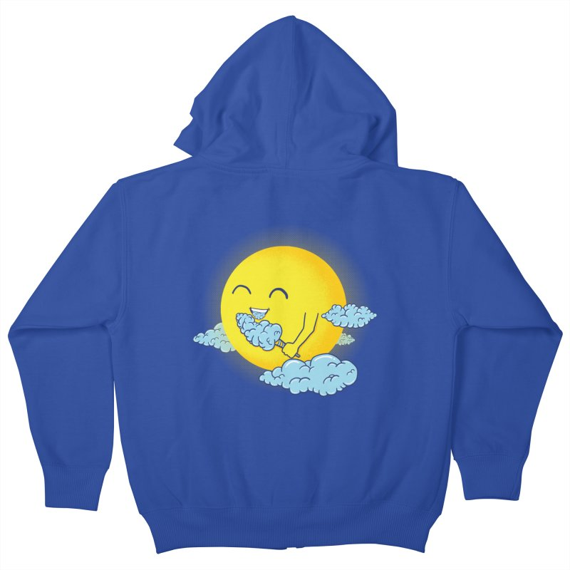 Cloud Candy Kids Zip-Up Hoody by Fathi