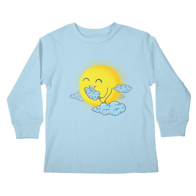 Cloud Candy Kids Longsleeve T-Shirt by Fathi