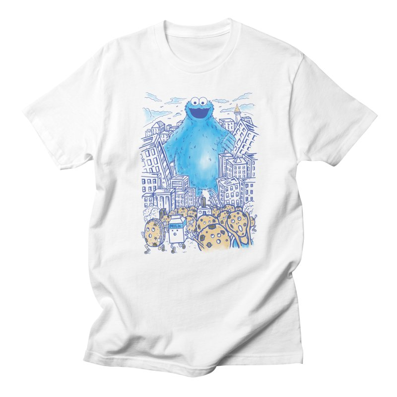Monster In The City Men's T-Shirt by Fathi
