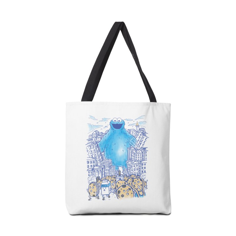 Monster In The City Accessories Bag by Fathi