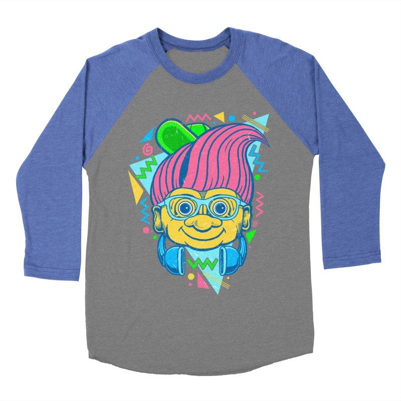 Hip Troll Women's Baseball Triblend T-Shirt by Fathi