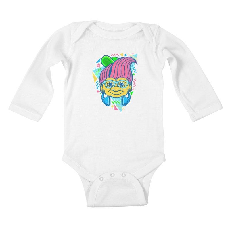 Hip Troll Kids Baby Longsleeve Bodysuit by Fathi