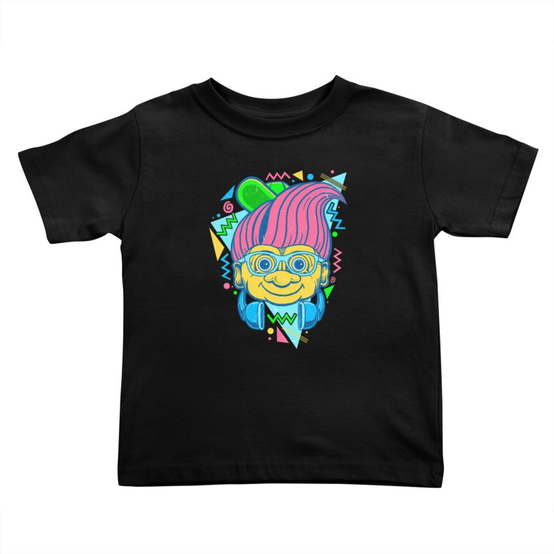 Hip Troll Kids Toddler T-Shirt by Fathi