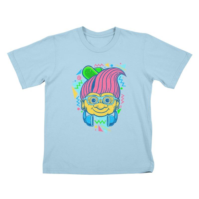 Hip Troll Kids T-shirt by Fathi