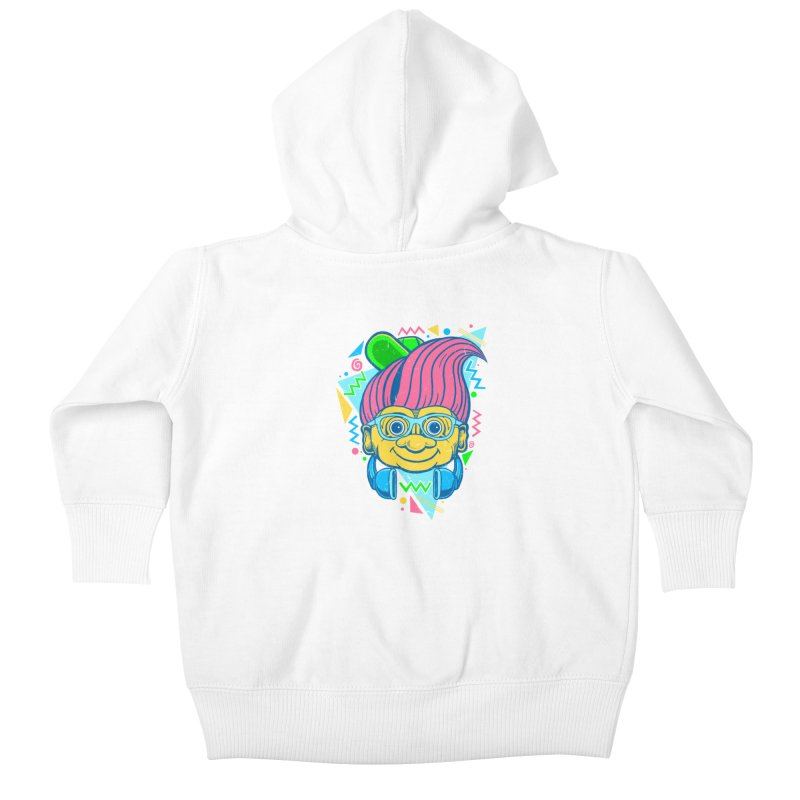 Hip Troll Kids Baby Zip-Up Hoody by Fathi
