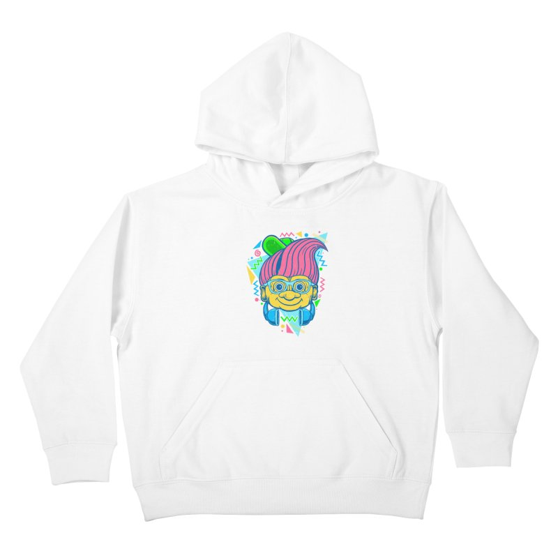Hip Troll Kids Pullover Hoody by Fathi
